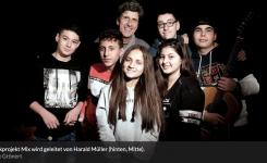 Musikprojekt M.I.X. –  Friedensbotschafter statt Problemfall